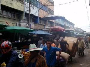 Market Street in Bangkok