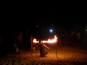 Fire limbo!