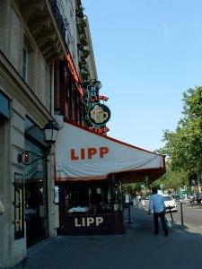 Brasserie Lipp: A favorite of Hemingway's