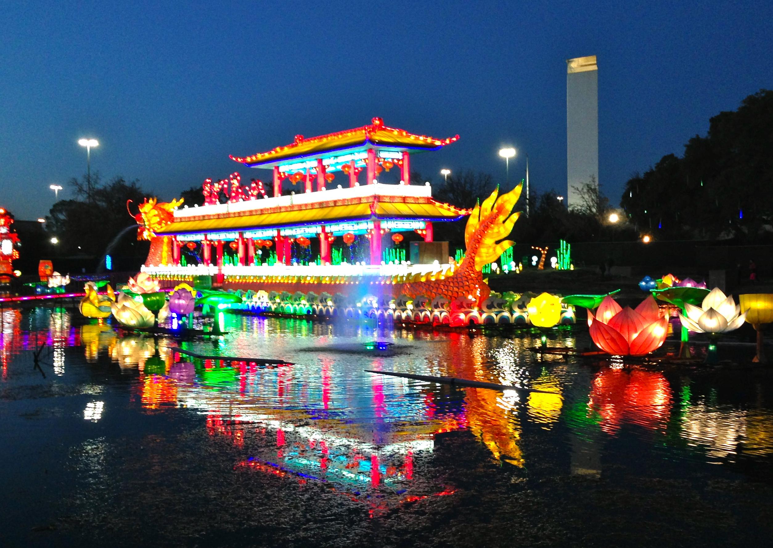 dallas chinese lantern festival | WORLDROMPER